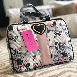 Betsy Johnson Cosmetic Case